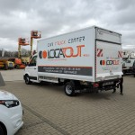CAMIONNETTE VW CRAFTER HAYON 20m3