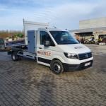 CAMIONNETTE VW CRAFTER BENNE BASCULANTE