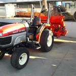 Tracteur horticole YANMAR EF235